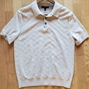 Banana Republic quilted short sleeve M